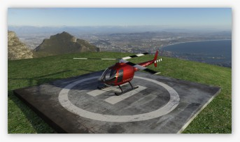 EQUINOX-3D Helicopter animation.