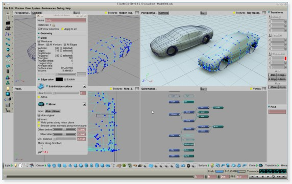 EQUINOX 3D Tesla Model S, work in progress (Gabor Nagy).