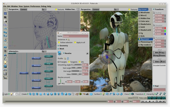 EQUINOX 3D Robot, work in progress (Gabor Nagy)